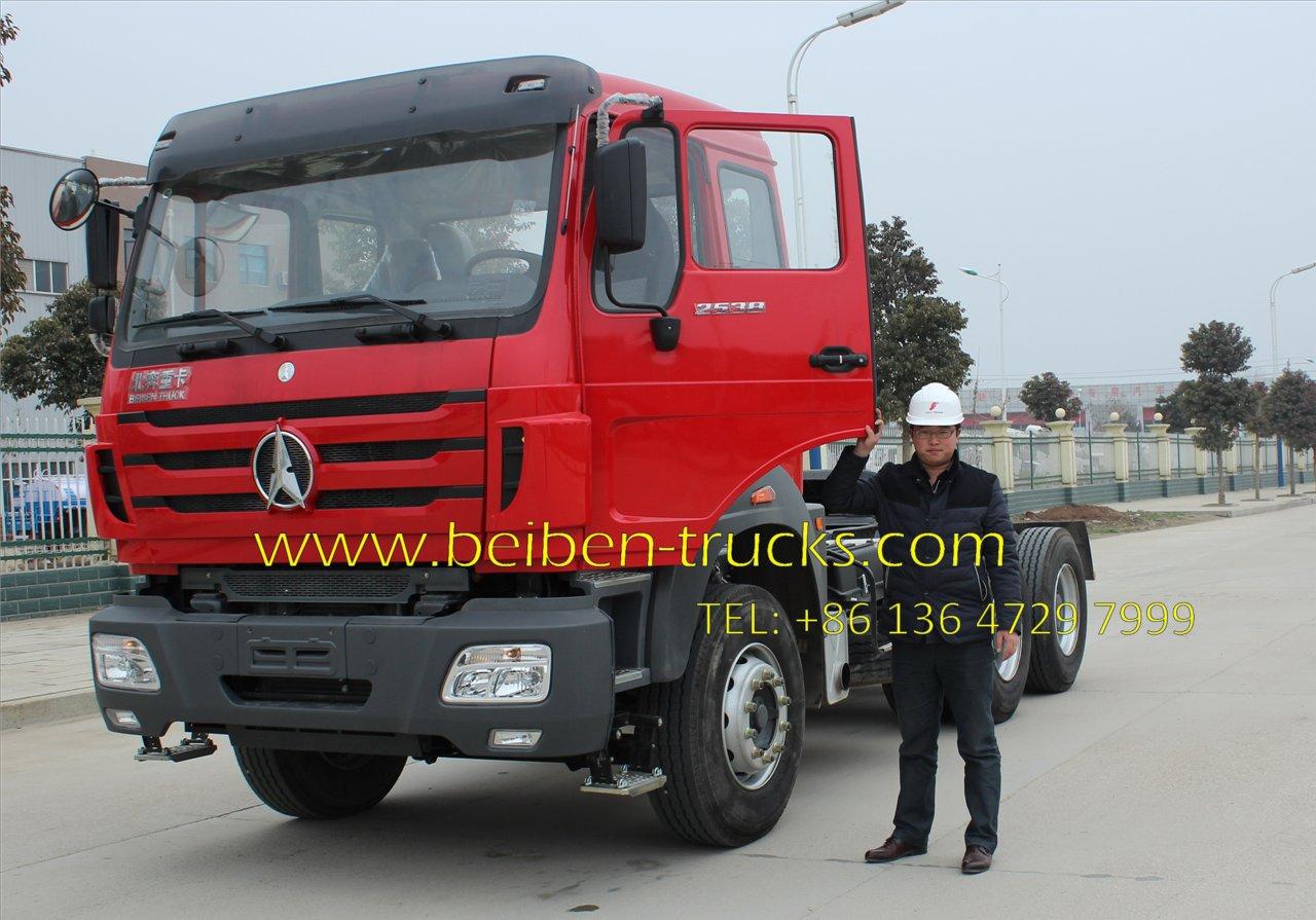 north benz 2538 tractor truck supplier