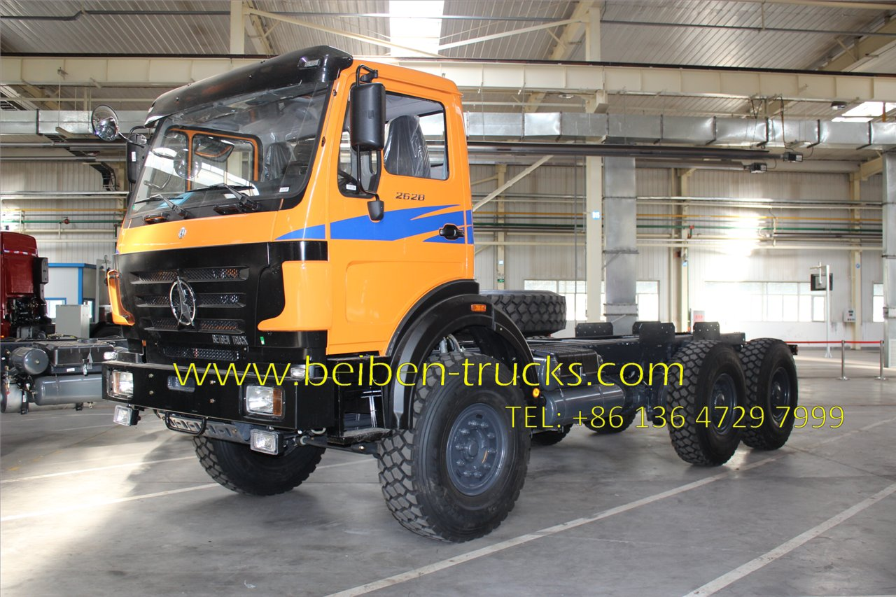 beiben 2638 tractor truck supplier