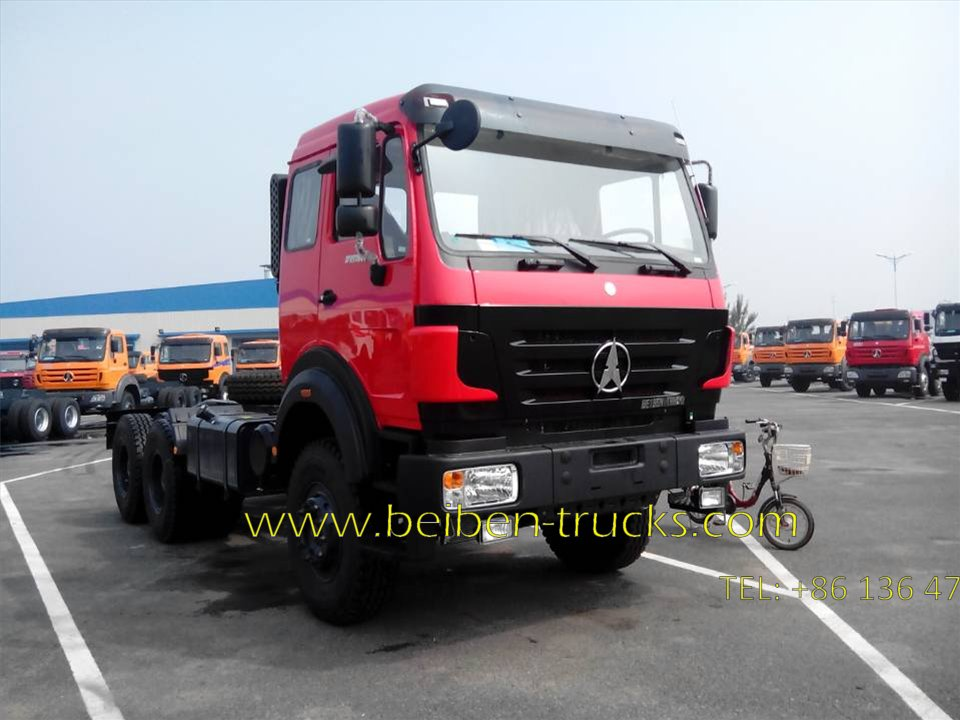 Beiben 2538 prime mover supplier