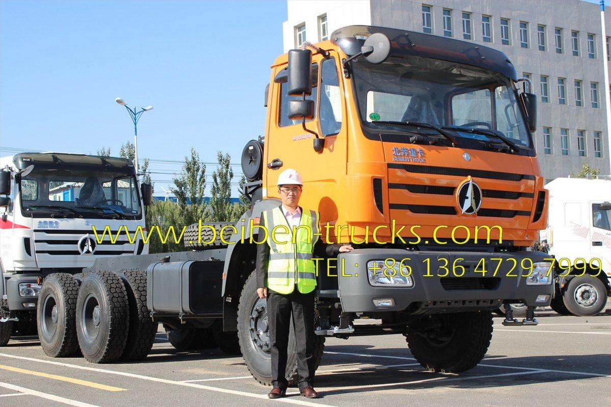 china beiben 2636 tractor truck supplier