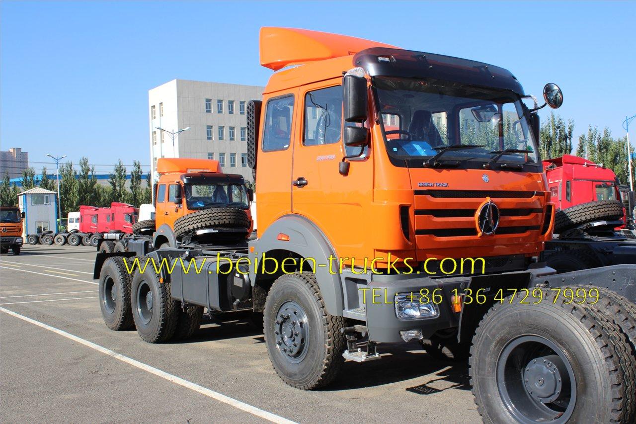 Beiben right hand drive tractor truck supplier