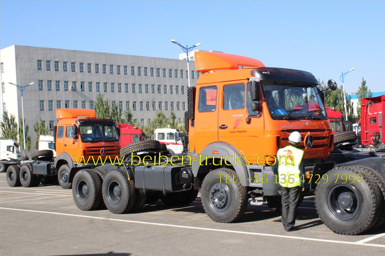 Beiben right hand drive tractor truck supplier
