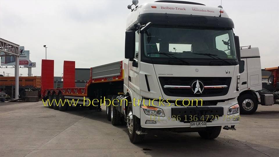 Beiben 2543 V3 tracteur camion supplier