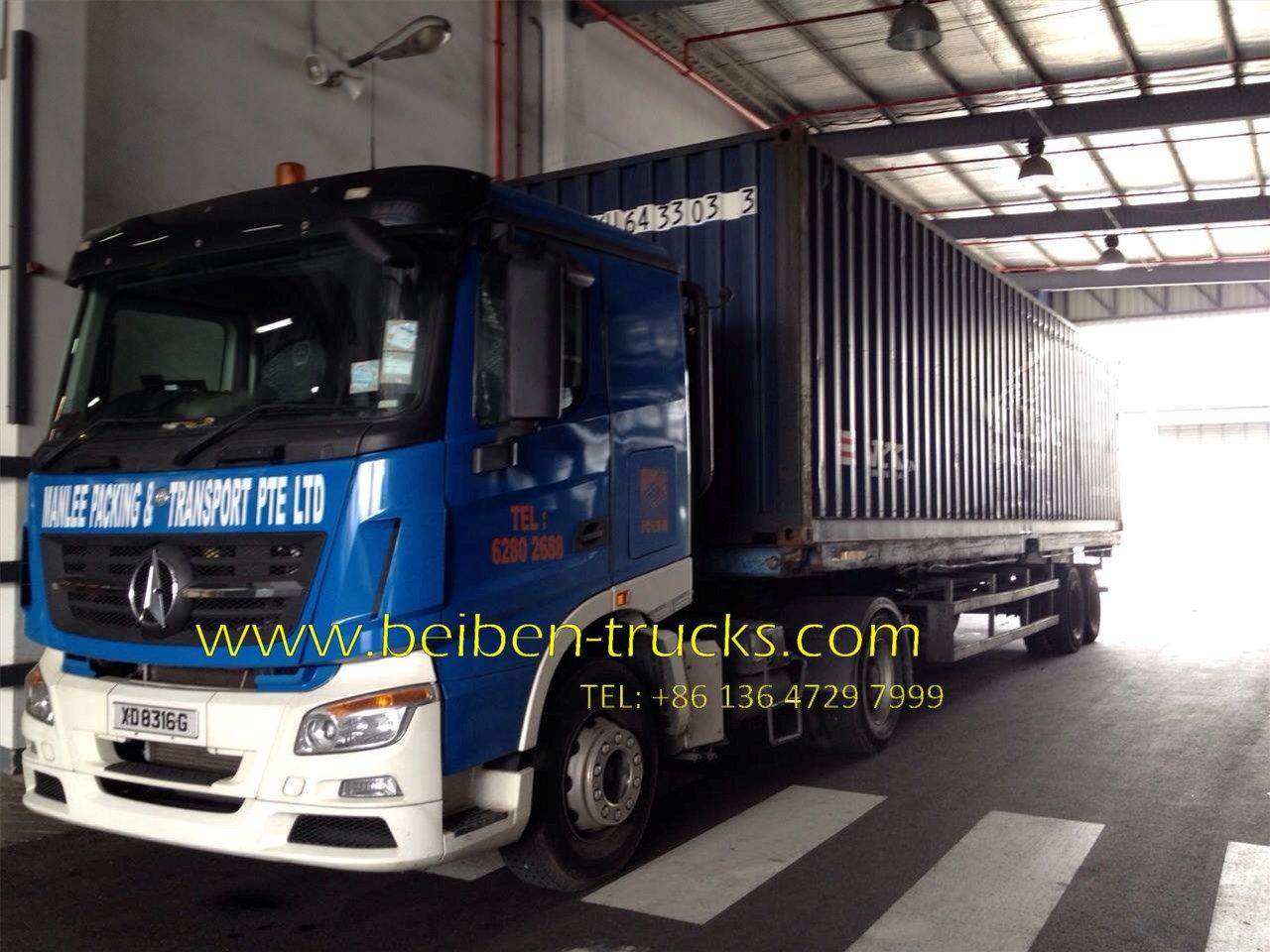 beiben 1840 tractor truck supplier