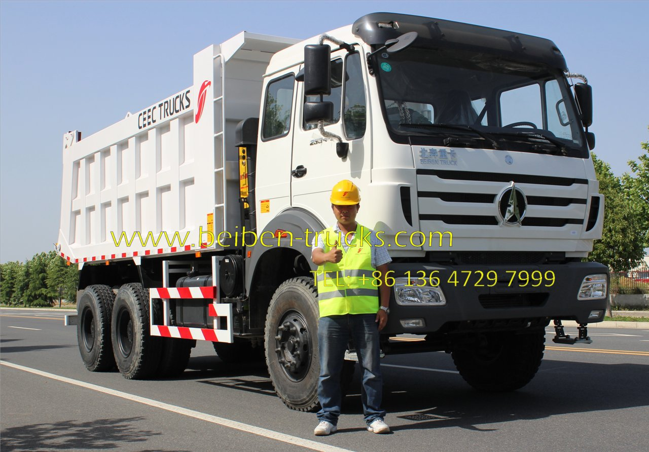 North benz 2534 dumper manufacturer
