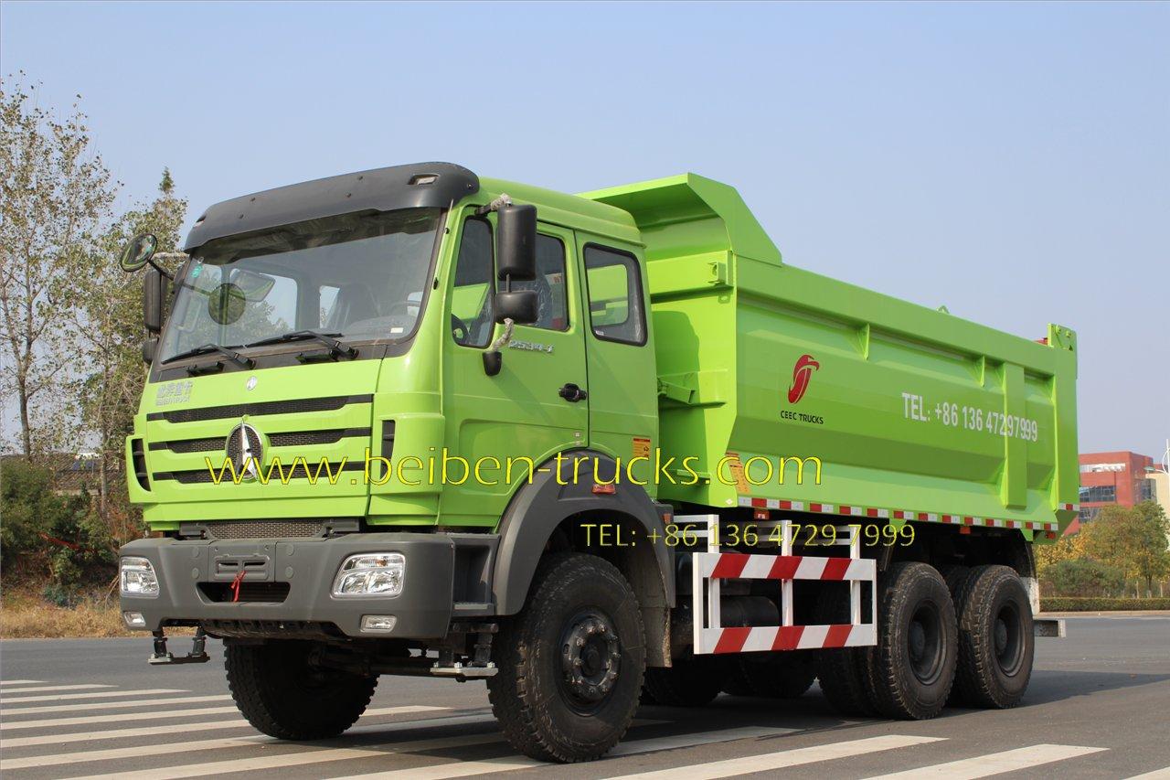 china beiben 2534 tipping truck