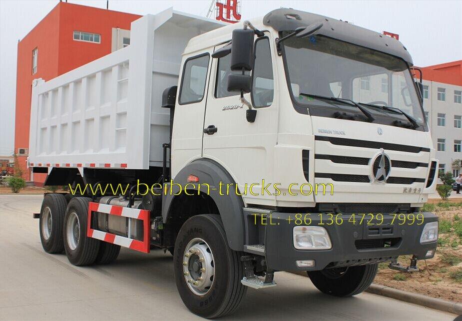 north benz 2529 dump truck