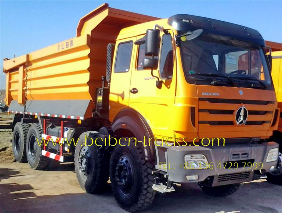 north benz 12 wheeler dumper supplier