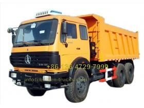 beiben 2638 K dump truck manufacturer
