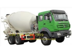 beiben transit mixer truck manufacturer