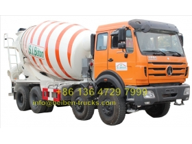 china beiben 3138 transit mixer truck manufacturer