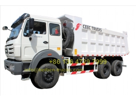 china beiben 2534 dump truck manufacturer