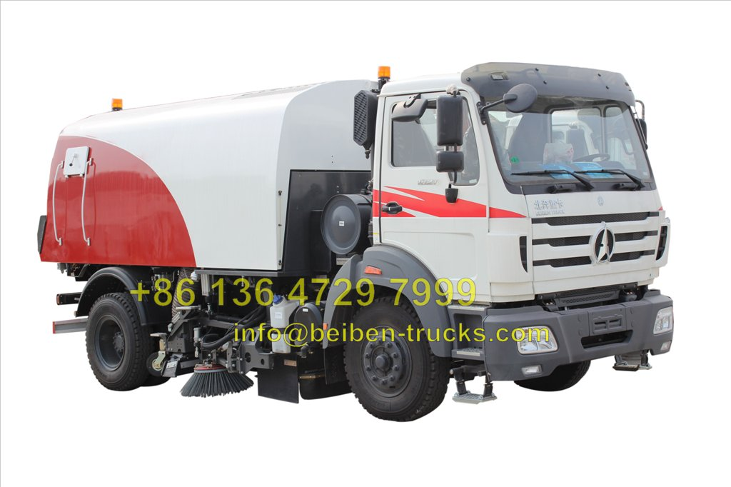 north benz 8 CBM sweeping trucks