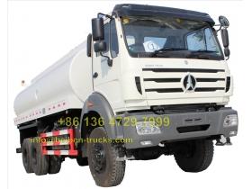 beiben RHD 2538 water tanker truck