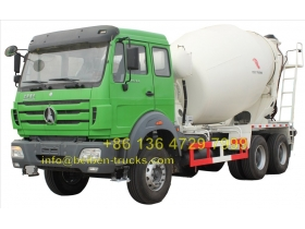 china beiben 2534 transit mixer truck