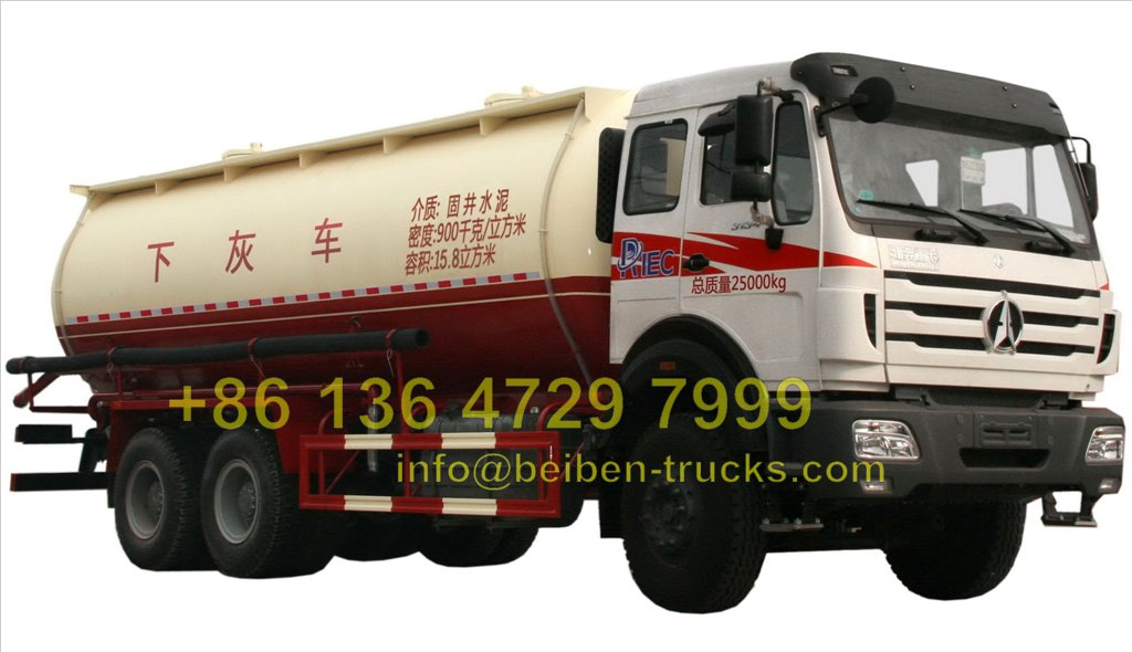 best beiben 6 wheel drive cement tanker truck price