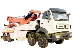 china North benz right hand drive heavy duty recovery truck  price