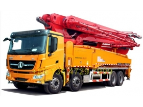 China beiben concrete pump truck manufacturer