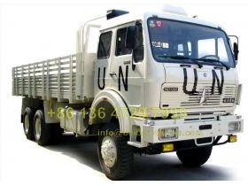 china beiben 6 wheel drive cargo truck