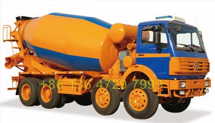 Beiben 8*4 14 CBM concrete mixer truck  supplier