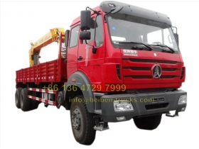 Beiben 12 T truck mounted XCMG crane supplier from china