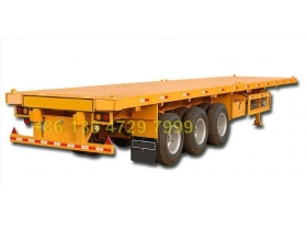 congo bogie suspension container semitrailer supplier