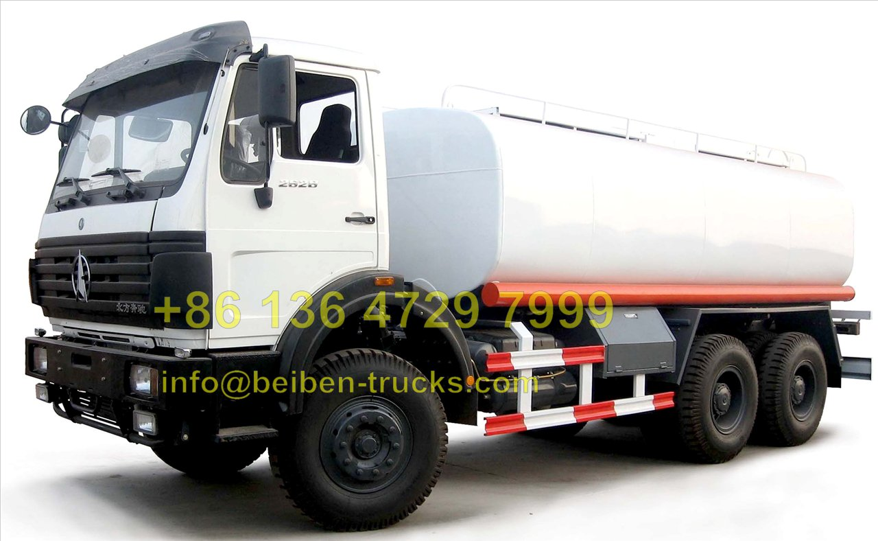 china beiben 2527 oil tanker truck