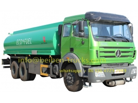 beiben 6*4 drive oil tanker supplier