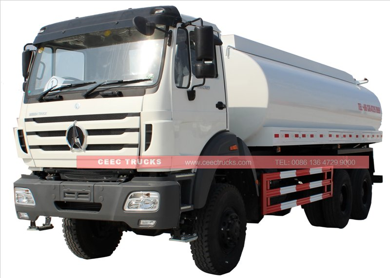 beiben 20 cbm water tanker truck