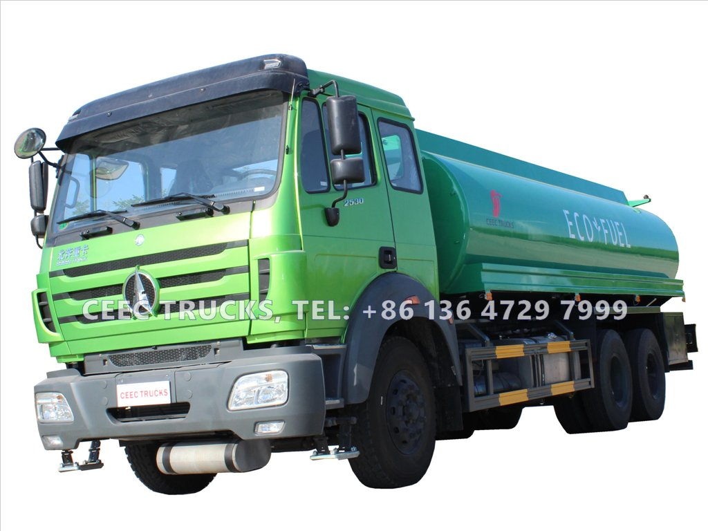 china beiben 2534 oil truck