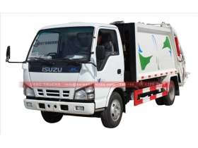 china refuse compactor truck system