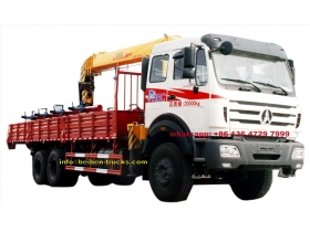 china beiben 5 t crane truck manufacturer