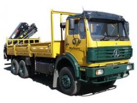 china beiben 8 T haib crane truck