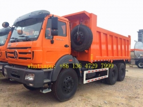 High Quality north benz 2538 dump truck