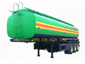 12 Wheeler 50000 Liters Oil/Fuel Tank Trailer  manufacturer