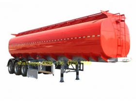 Steel Fuel oilTanker Semi Trailer