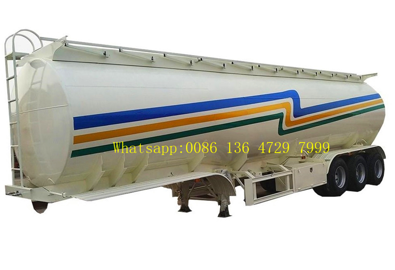 FUWA axle petrol fuel tanker semitrailer supplier