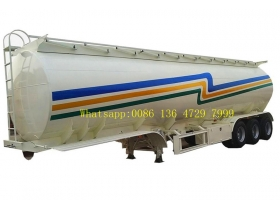 FUWA axle petrol fuel tanker semitrailer supplier