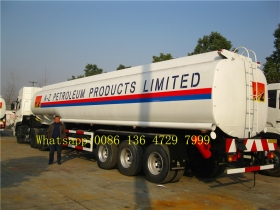 Mechanical spring suspension fuel tank trailer supplier