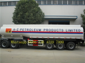 36000 L double tire fuel tank truck trailer supplier