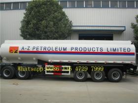 36000 L double tire fuel tank truck trailer supplier