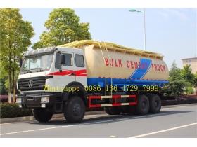beiben 6*6 drive cargo truck