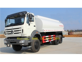 beiben 6*6 water tanker truck