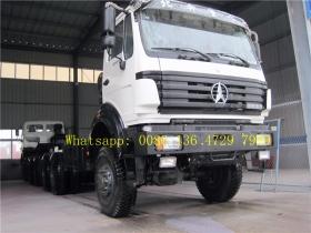 beiben 6*6 drive cargo truck supplier
