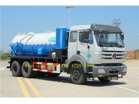 beiben sewage tanker truck