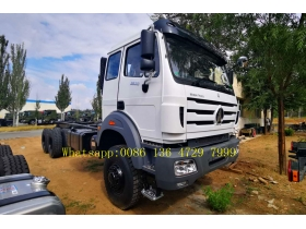 beiben 6*6 drive truck chassis