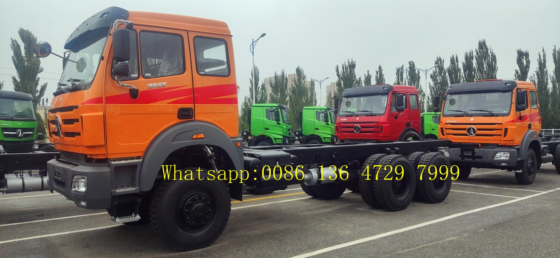 beiben 2642 truck chassis supplier