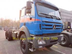 beiben 2642 model cargo truck