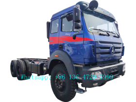 beiben 2642 off road truck chassis