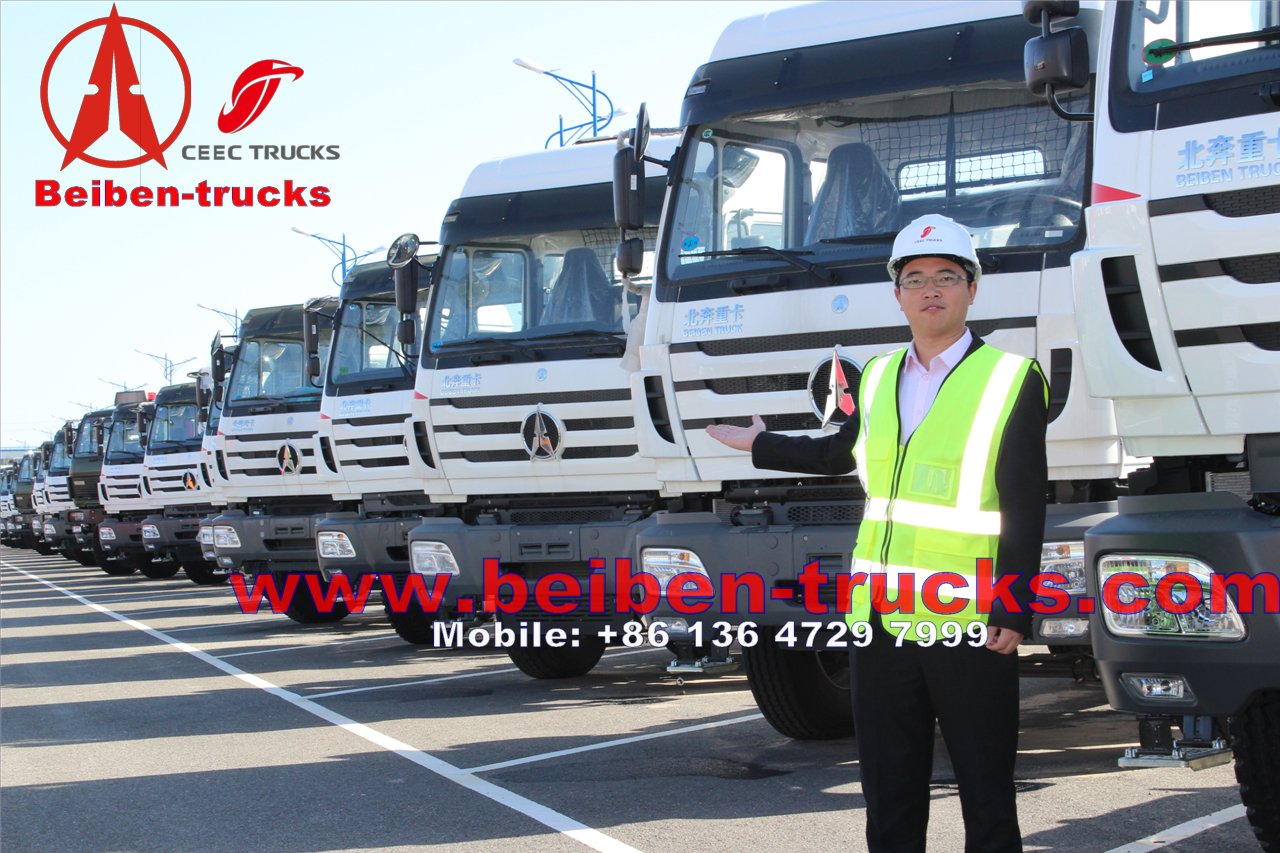 China best beiben tracteur camions supplier from baotou beiben trucks plant